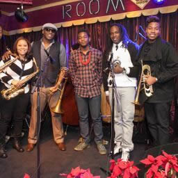 "Natasha Harris, Sam ""Big Sammie"" Williams, Joe Dyson, Shamarr Allen & Christian Scott"
