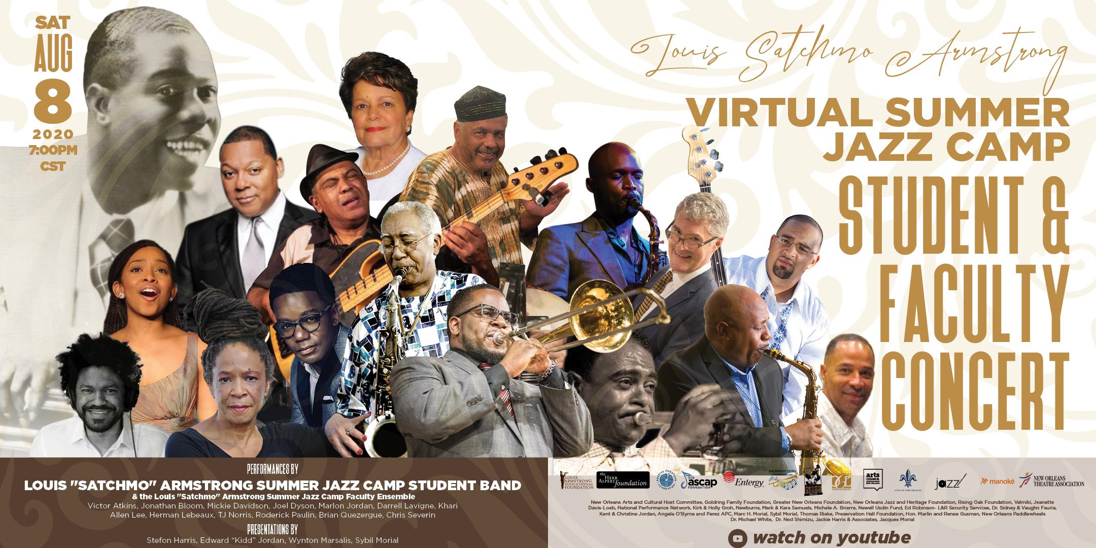 2020 Virtual Jazz Camp Concert Invite